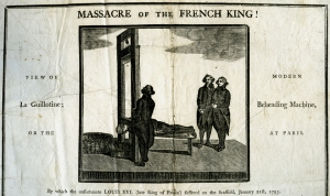 Massacre of the French King! - broadside