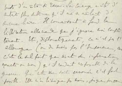 MP to Albufera March 1915 - excerpt 1